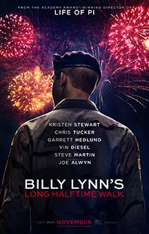 Poster de: Billy Lynn's Long Halftime Walk