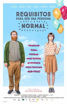 Poster de: Requisitos Para Ser Una Persona Normal