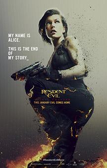 Poster de: Resident Evil: The Final Chapter