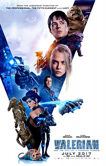 Poster de: Valerian and the City of Thousand Planets