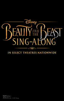 Poster de: Beauty and the Beast 'Sing Along'
