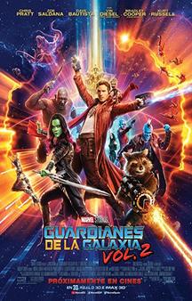 Poster de: Guardianes de la Galaxia Vol. 2